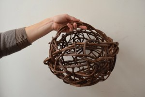 Random Weave Grapevine Market Basket