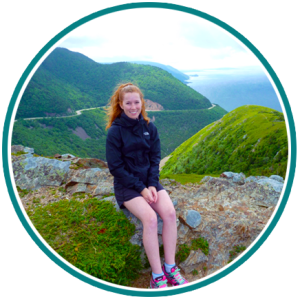 A photo of Dr. Katie Gunnell - Cape Breton Highlands National Park