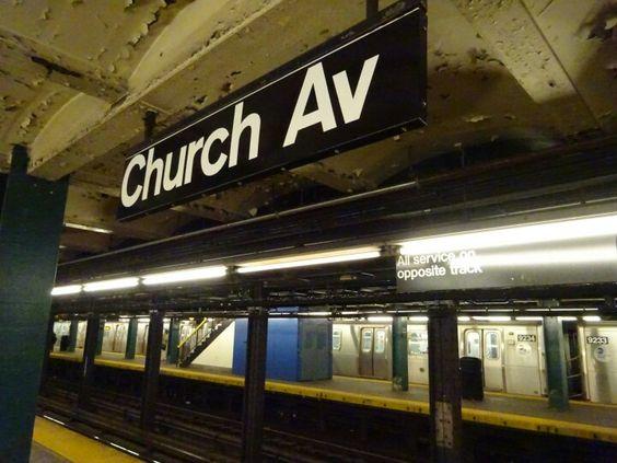 Subway - F Line - Church Avenue