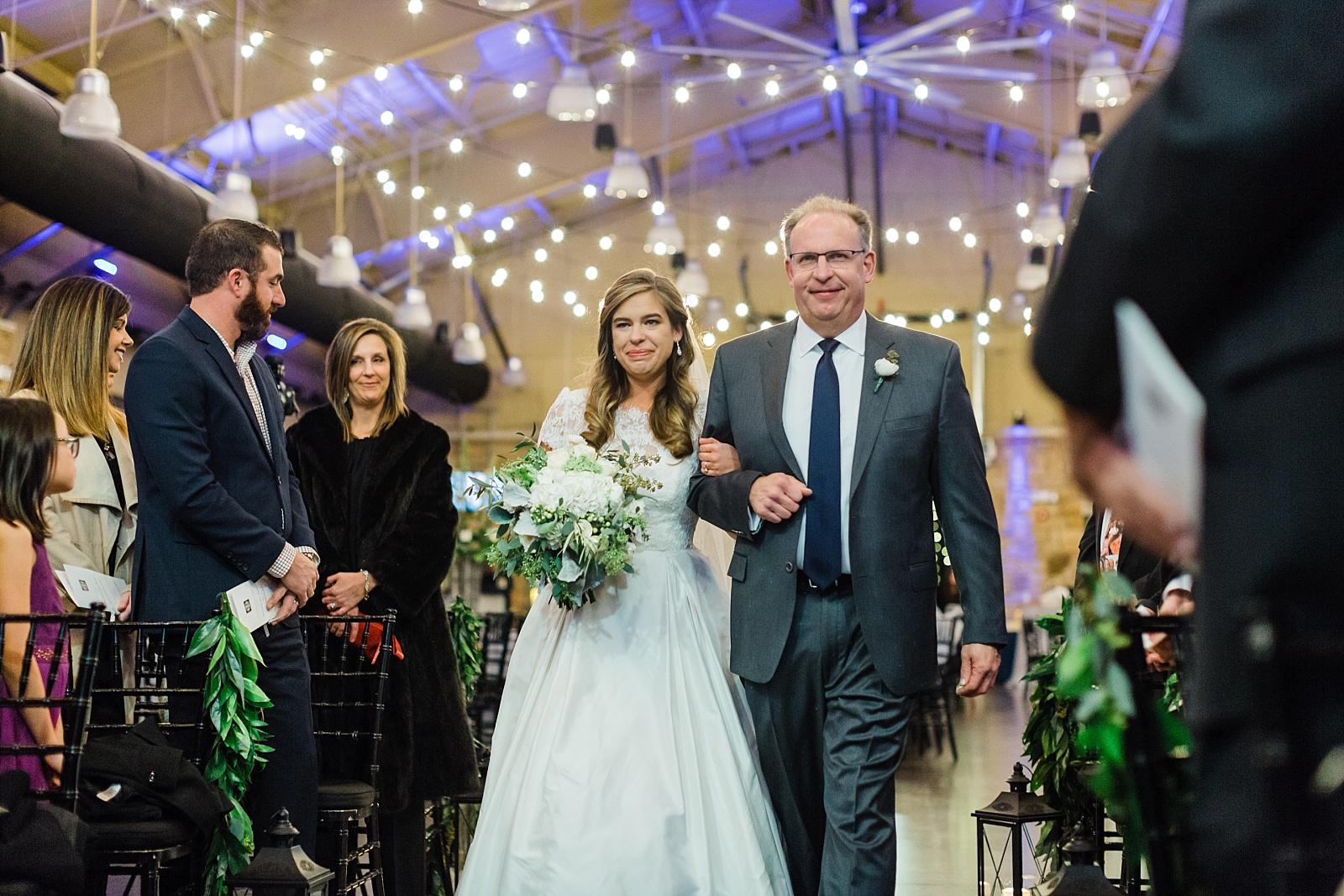 Winter Wedding At The Tuscaloosa River Market