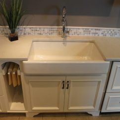Build Kitchen Island Tile Countertops Farmhouse Style- At Valley Cabinets! – Katie Jane ...