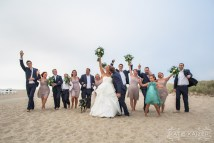 Sandbar at Jetties Beach Nantucket Wedding