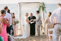 Michigan Beach Wedding Ben Claire - Katie Kett