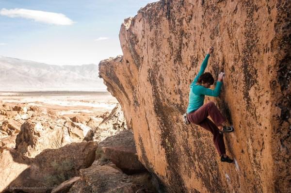 Bishop California Climbing