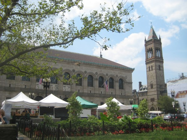 Boston Copley Square Farmers Market