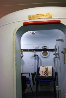 The oxygen chamber itself