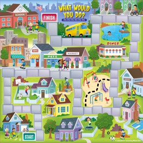 Board Game design for Lakeshore Learning Materials