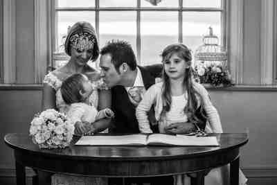wedding photographer devon haldon belvedere castle
