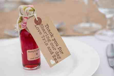 fullerton estate cottonworth hampshire wedding favour