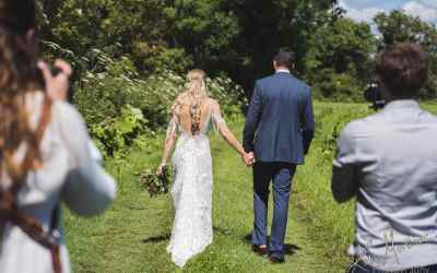 Planning photography into your wedding day timings