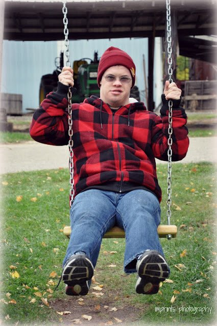 My brother Brian who has Down Syndrome