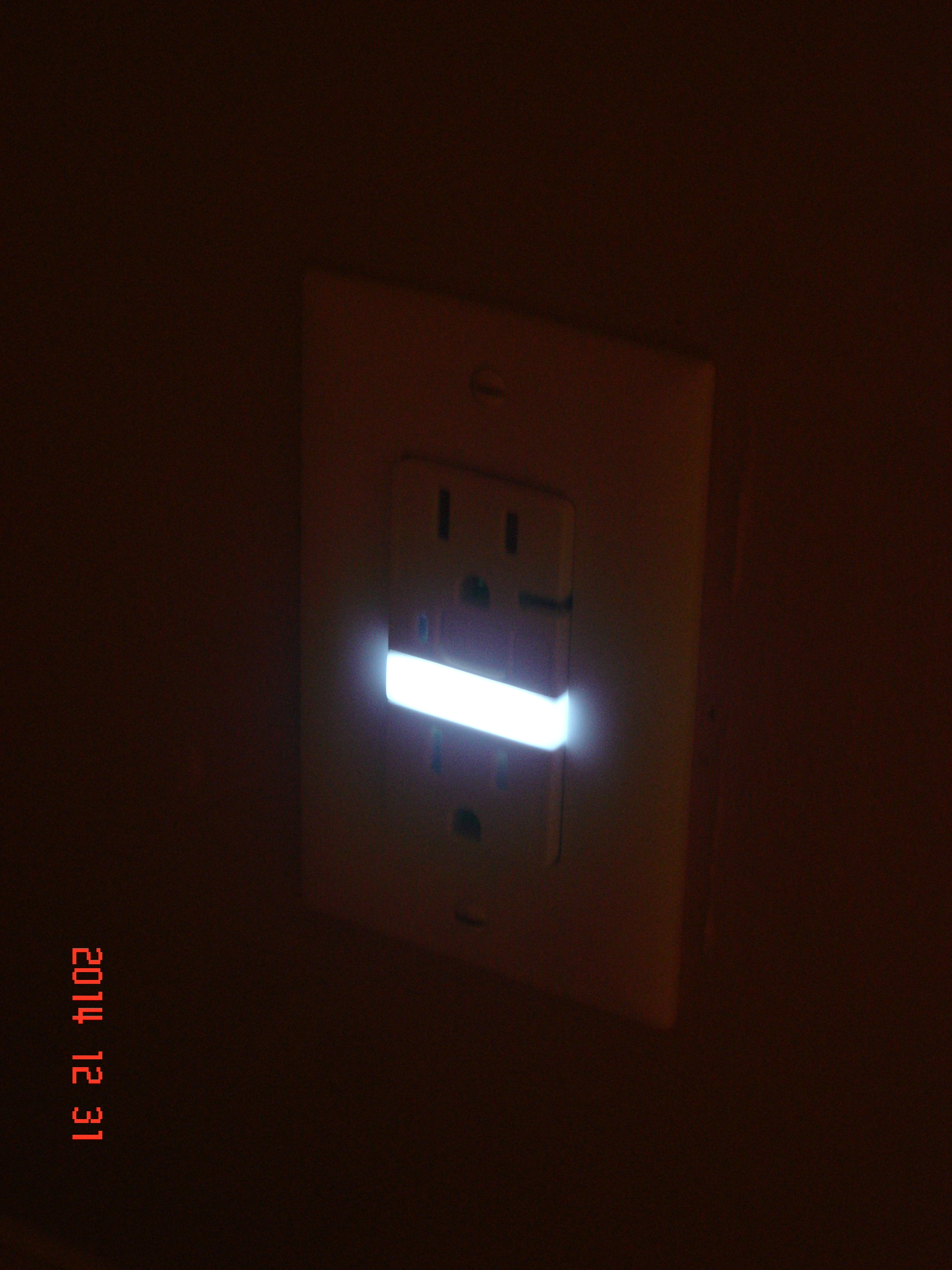 Installing a Pass&Seymour GFI nightlight outlet  Home