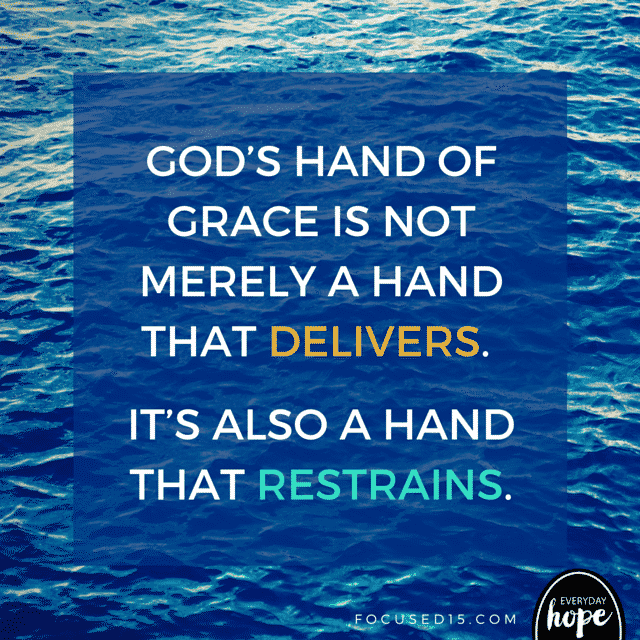 God's hand of grace