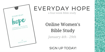 Everyday Hope Online Study Sign Up