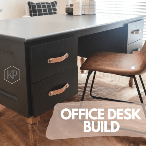 Office Series: Part 1 – Building The Office Desk