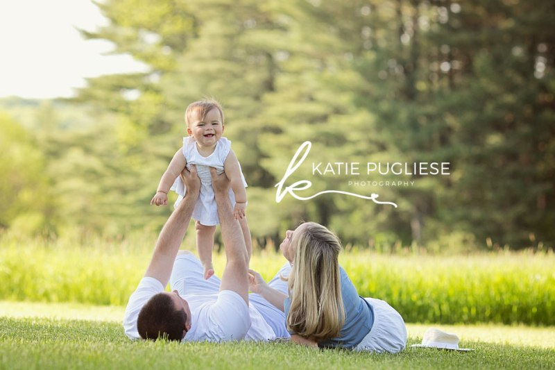 First Birthday Photo Session: Middlebury, CT Family Photographer