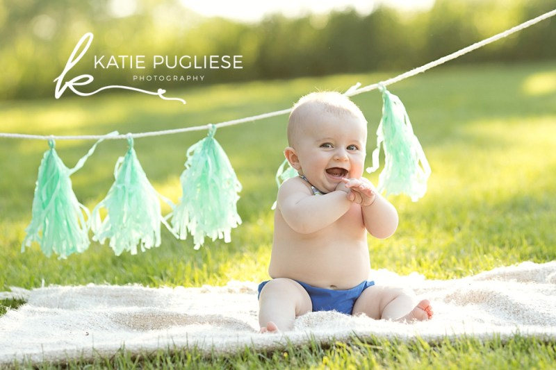 Six Month Baby Boy Photo Session: Watertown, CT Photographer