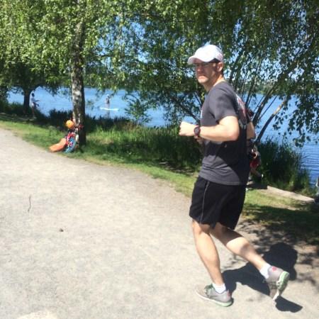 Spring Running at Green Lake