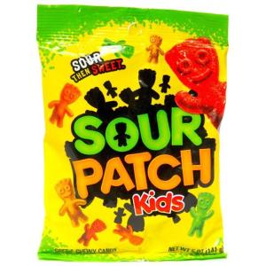 Five Faves 8-10-18 Sour Patch Kids