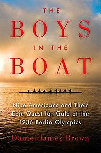 Five Faves 2-15-19 - The Boys in the Boat Book