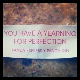 My fortune cookie thinks I have OCD too.