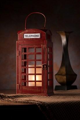 Call Me! Telephone Booth Shade