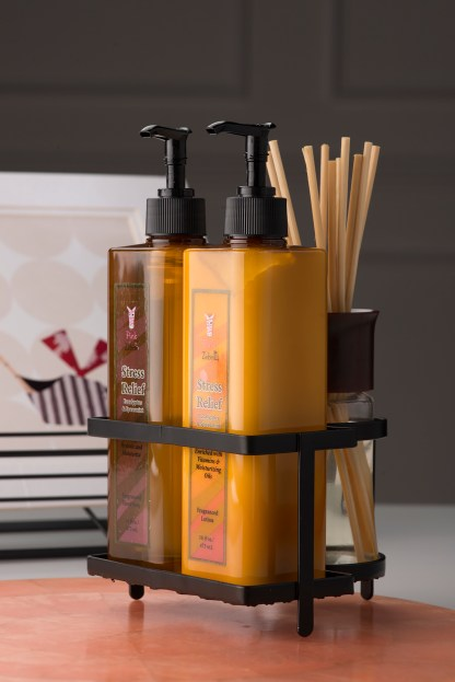 Our lotions and soaps are paraben and sulfate free.