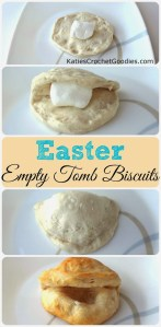 How to explain the true meaning of Easter to Young Children: Empty Easter Tomb Biscuits
