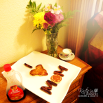 "Mother's Day Breakfast Idea – ""I heart mom"""