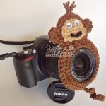 Free Monkey Lens Buddy Crochet Pattern