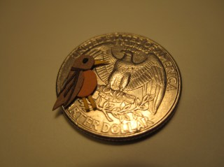 birds of a feather, hang out on quarters together