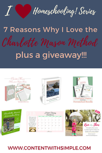 Charlotte Mason Homeschool Giveaway