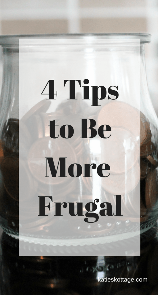 4 tips to be more frugal