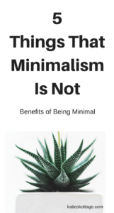5 Things that Minimalism is Not | Benefits of Minimalism | Becoming Minimalist