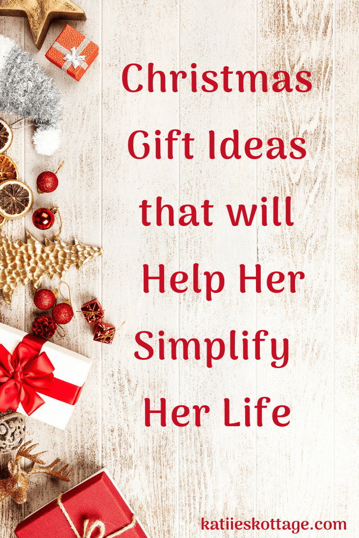 Christmas gift ideas to help her simplify her life. These are great gift ideas for practical people. Great gift ideas for organized people. Awesome gift ideas for planner lovers. And great gift ideas for minimalist or someone looking to simplify their life. #giftguide #christmasgiftideas #christmasgifts #organized #christmas #minimalist #plannerlovers #giftsforher
