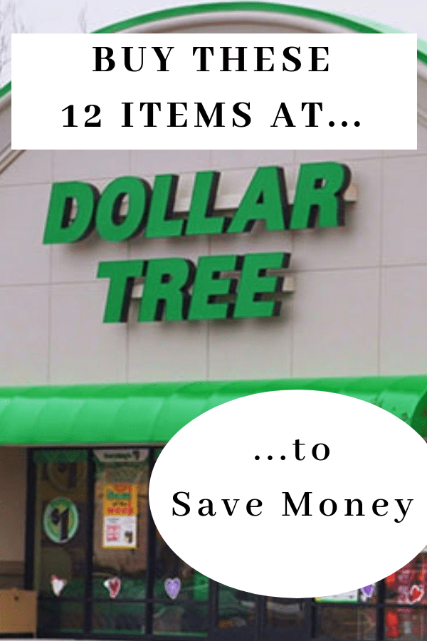 Things to buy at dollar tree that will save you money. Find the best deals at the dollar store. Here's what to buy that isn't junk. #savemoney #frugal #money #frugalliving #moneysavingtips #moneysaving #budget #budgettips