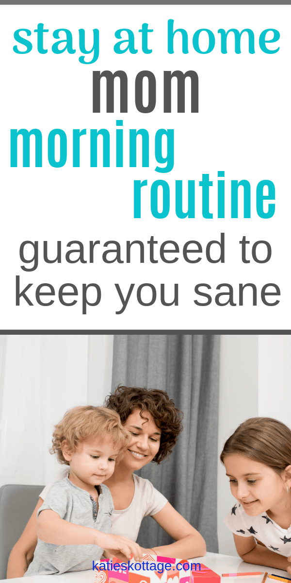 stay at home mom morning rouitne