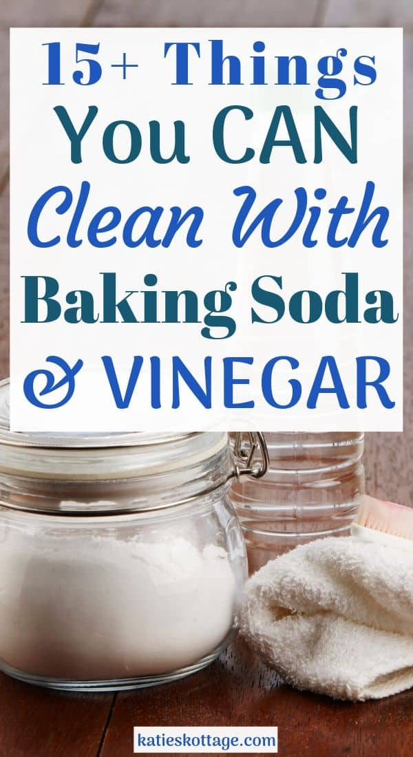 How to Clean with Baking Soda and Vinegar - KatiesKottage