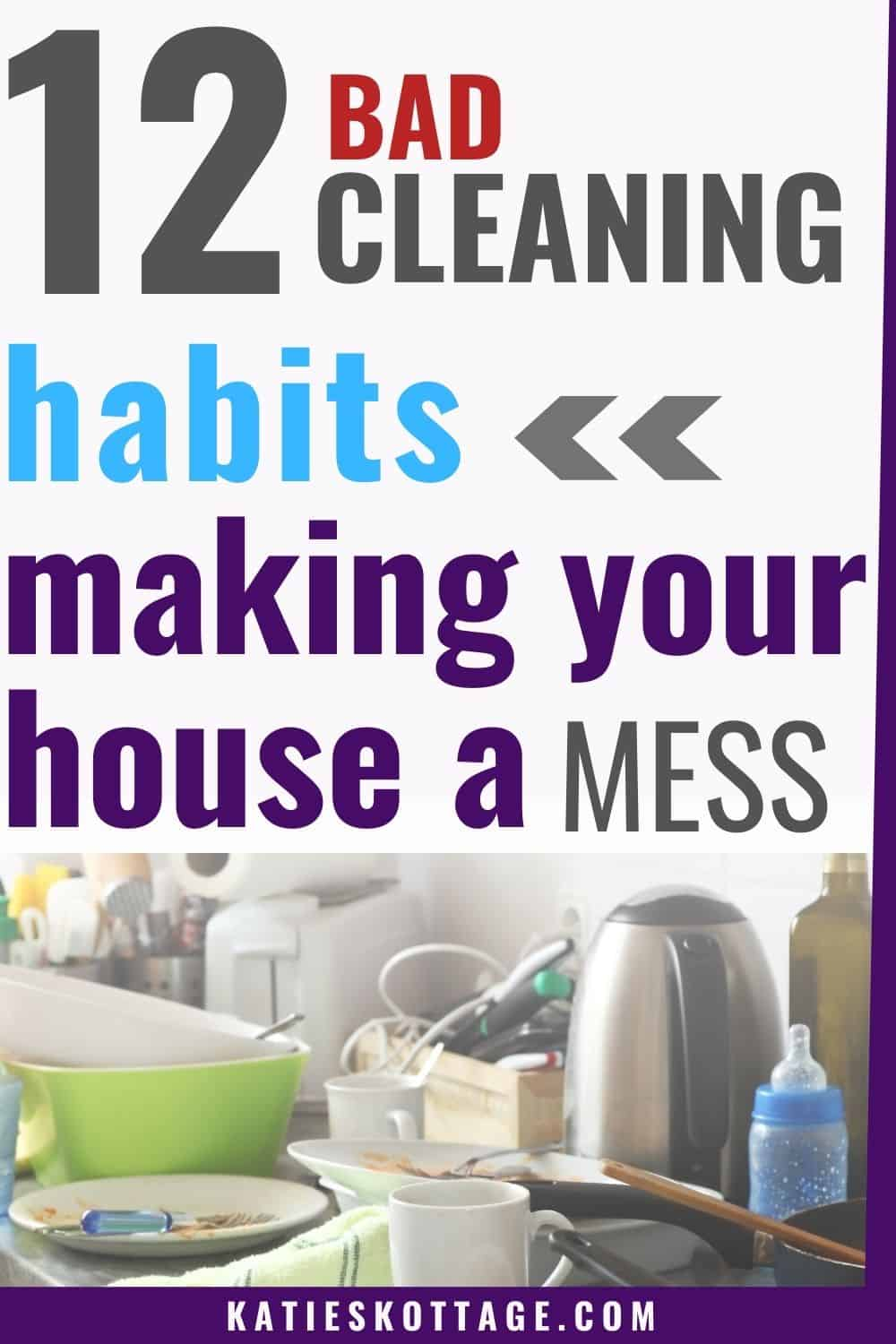 good cleaning habits