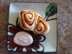 cinnamon buns with coconut oil