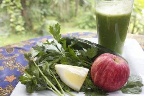 cucumber parsley juice recipe ingredients