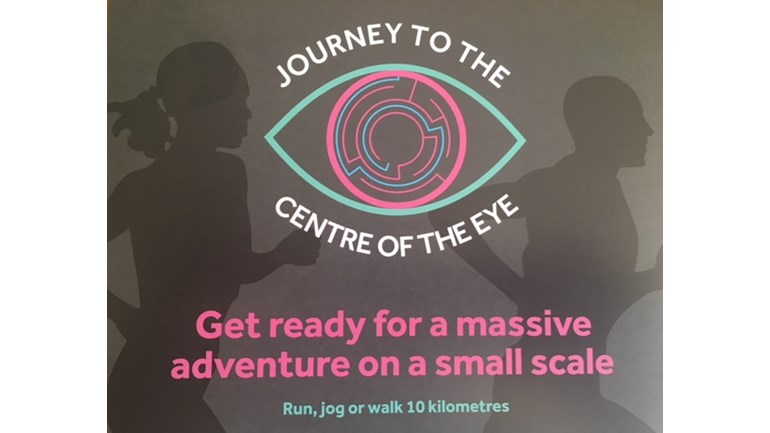 Journey to the Centre of the Eye fund raising pic