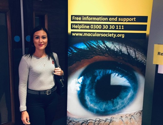 macular society header and me