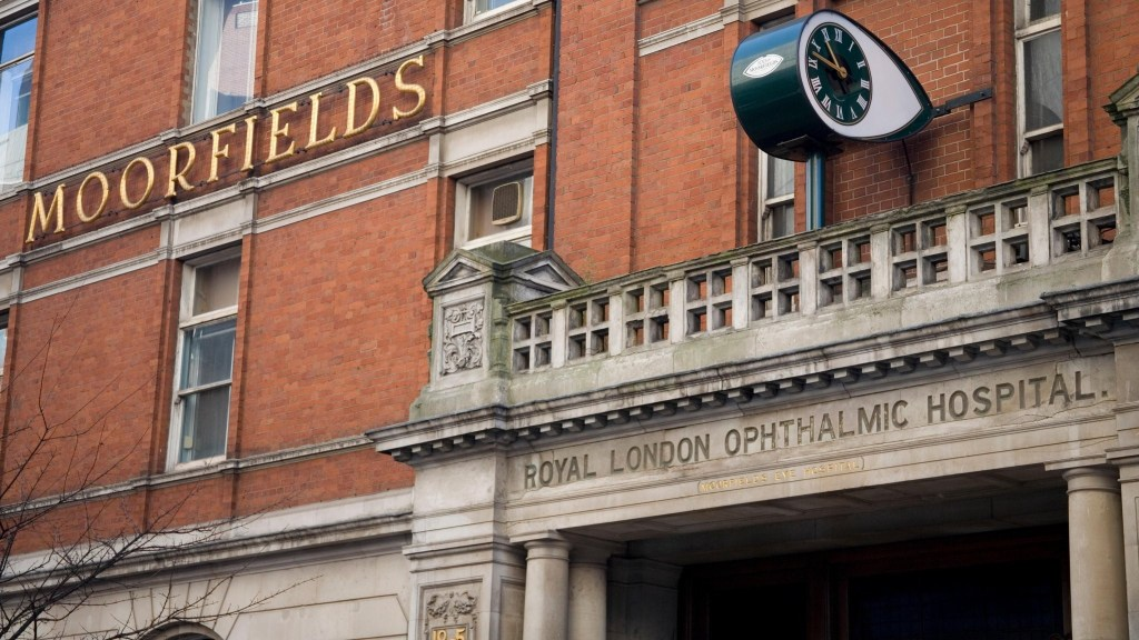 A picture of Moorfields Eye Hospital Building