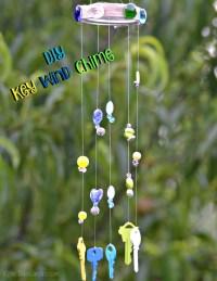 DIY Key Wind Chime - Katie Talks Carolina