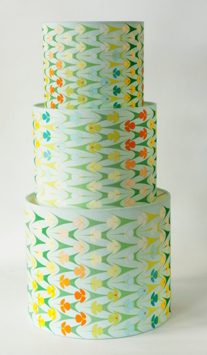 cactus lampshades pale blue tower