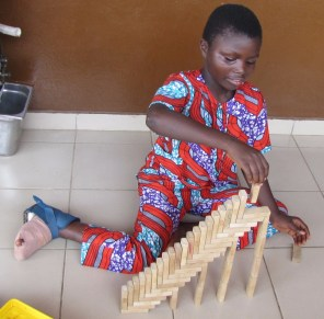 He's gonna become an architect