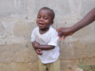 This is the happy, playful little man that Samsu has become. Hes constantly laughing and playing and trying to copy you