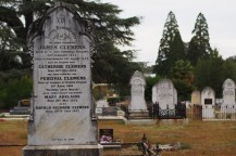 We walked to the Beechworth cemetery, which is quite old, despite having been re-located several times.