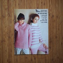 Get the latest in neckline news, thanks to this pattern book! Haven't you seen the Neckline News before? There's probably a good reason for that. Those are some serious necklines, though, you have to admit.